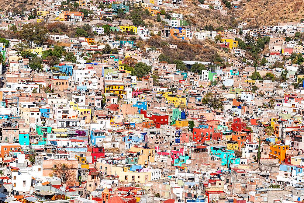 Overlook over the Unesco site Guanajuato, Mexico - 1184-5407