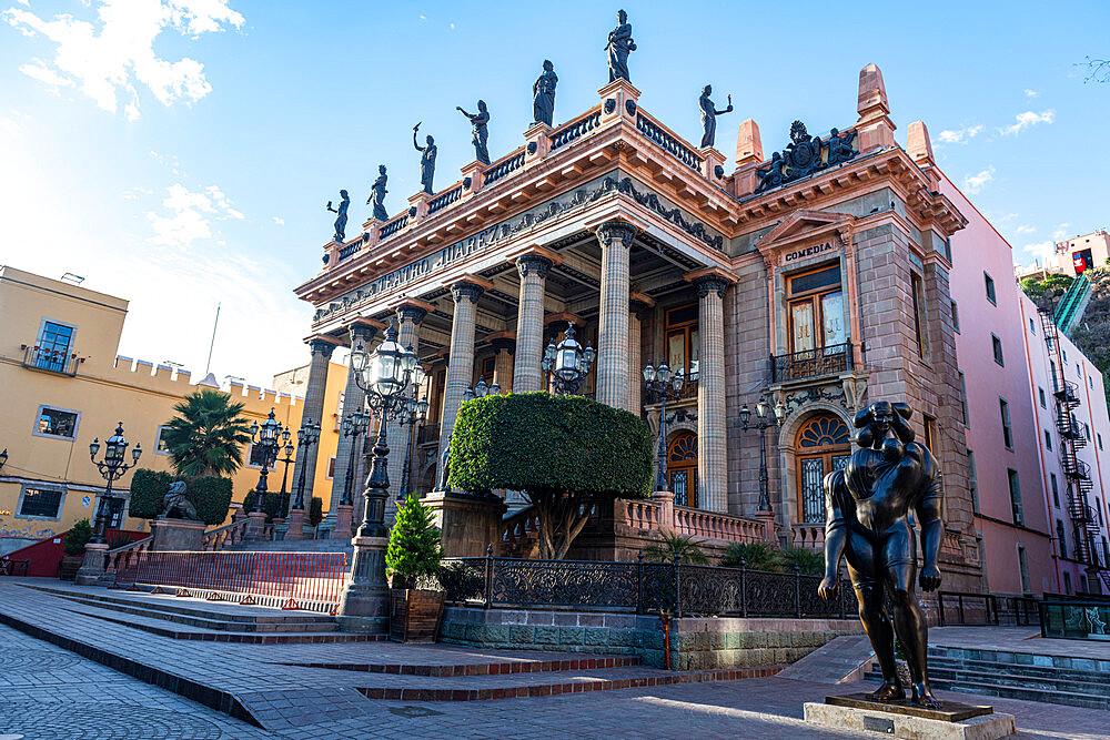 Teatro Juarez, Unesco site Guanajuato, Mexico - 1184-5410