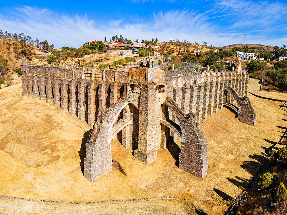 Ruins of the Hacienda of Guadalupe, Unesco site Guanajuato, Mexico - 1184-5411