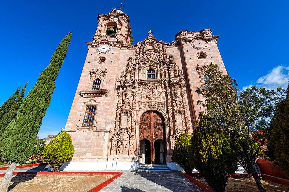 Templo De La Valenciana, Unesco site Guanajuato, Mexico - 1184-5412