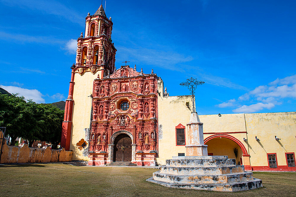 Landa mission, Unesco site Franciscan Missions in the Sierra Gorda of Queretaro, Mexico - 1184-5432