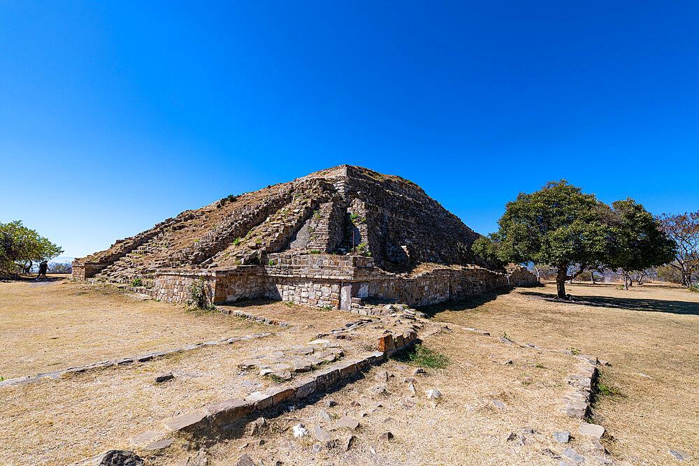 Unesco world heritage site Monte Alban, Oaxaca, Mexico - 1184-5475