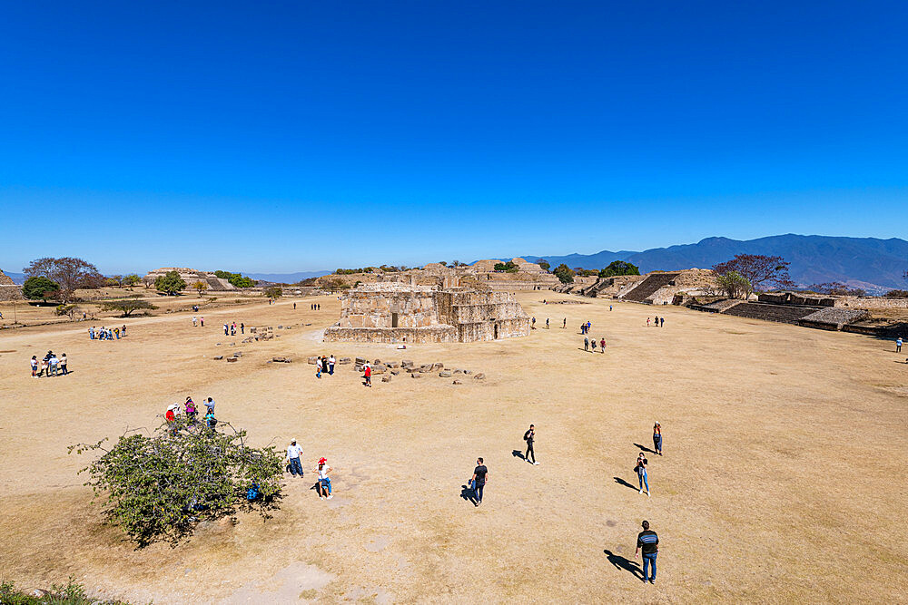 Unesco world heritage site Monte Alban, Oaxaca, Mexico - 1184-5477