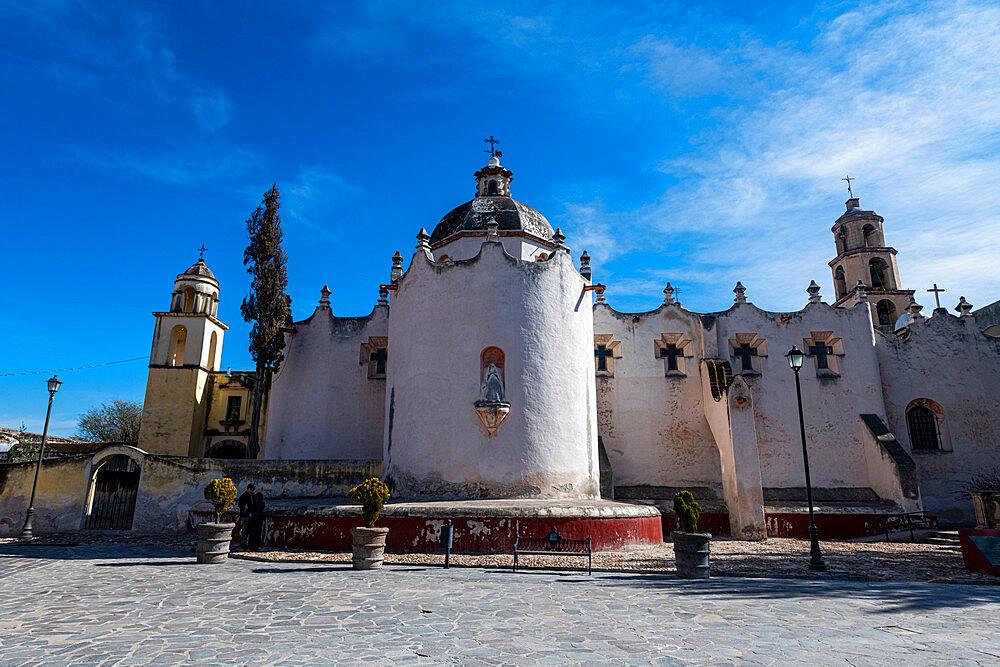 The Sanctuary of Atotonilco pilgrim town, UNESCO World Heritage Site, Guanajuato, Mexico, North America - 1184-5520