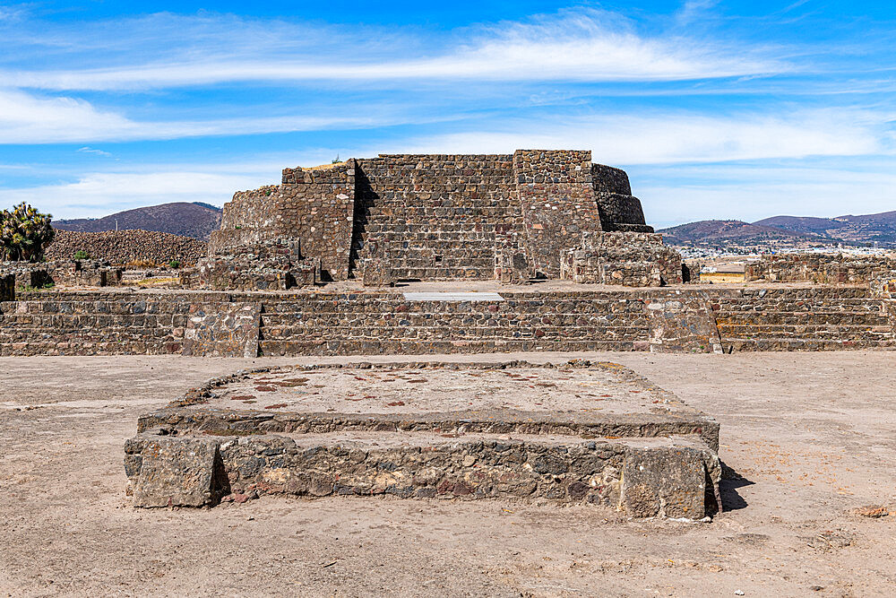 Mesoamerican archaeological site of Tecoaque, Tlaxcala, Mexico, North America - 1184-5531