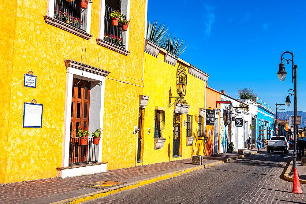 Historic buildings, UNESCO World Heritage Site, Tequila, Jalisco, Mexico,  North America - 1184-5534