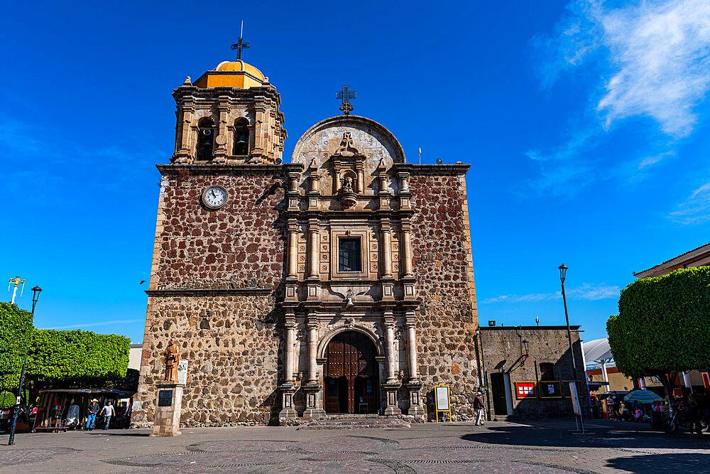 Parroquia Santiago Apostol, Plaza Principal Tequila, UNESCO World Heritage Site, Tequila, Jalisco, Mexico, North America - 1184-5536