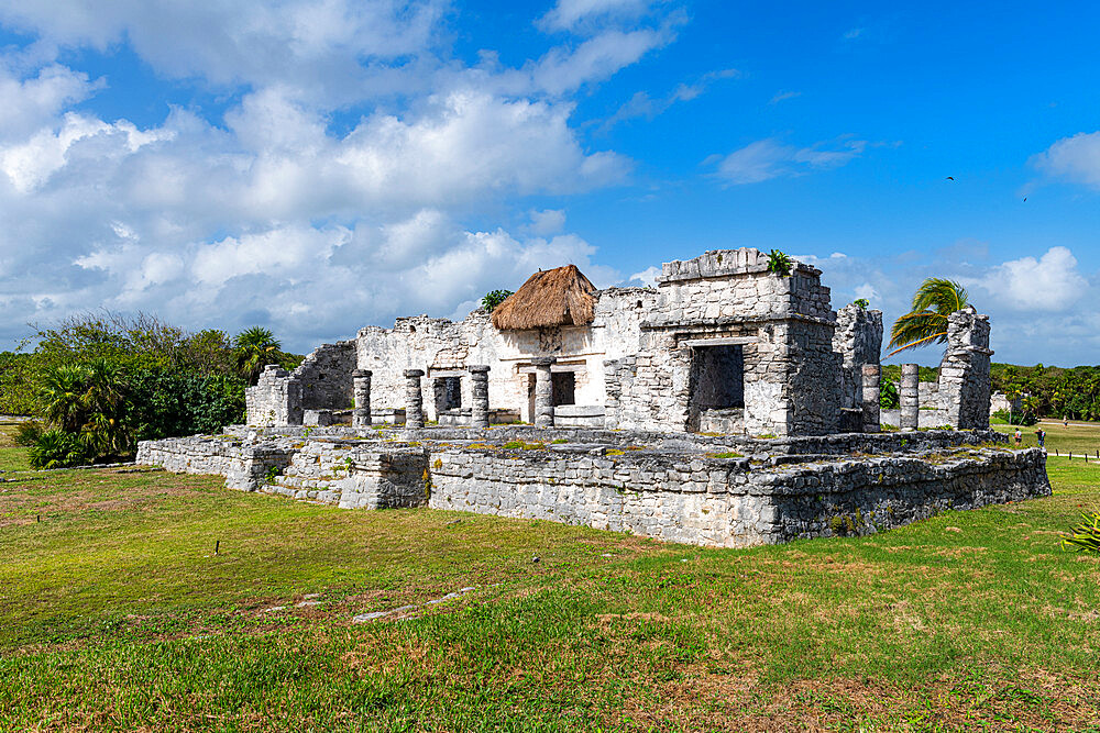 Pre-Columbian Mayan walled city of Tulum, Quintana Roo, Mexico, North America - 1184-5545