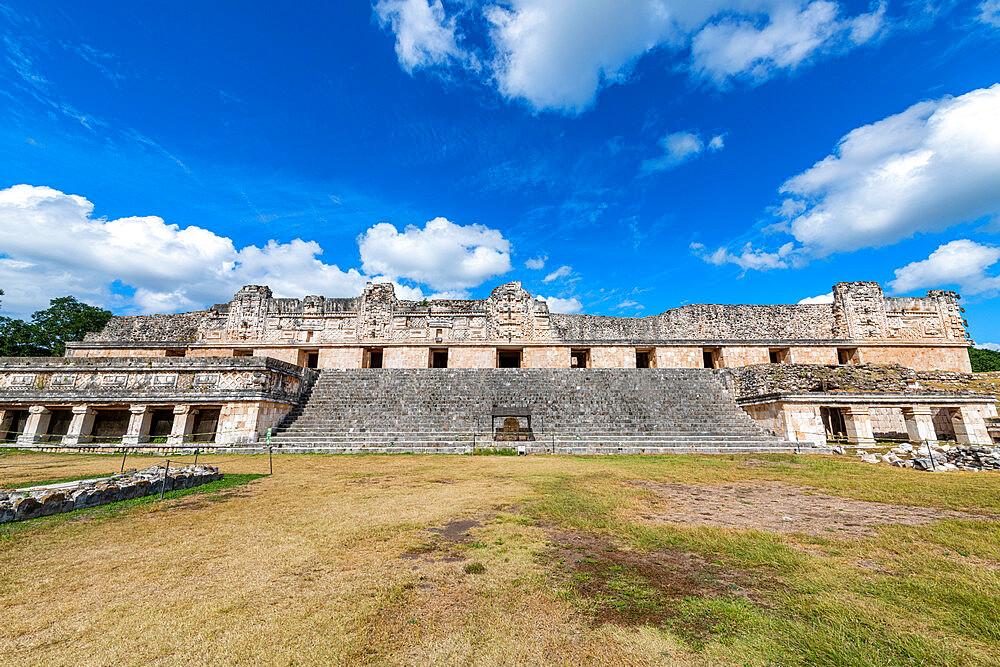 The Maya ruins of Uxmal, UNESCO World Heritage Site, Yucatan, Mexico, North America - 1184-5554