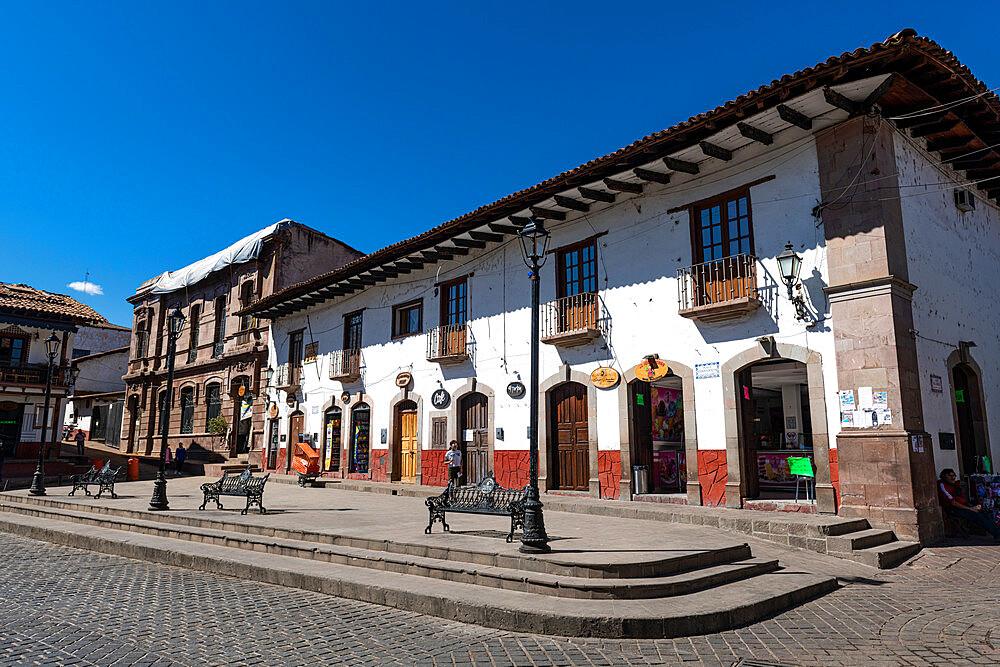 Historic buildings, Valle de Bravo, state of Mexico, Mexico, North America - 1184-5560