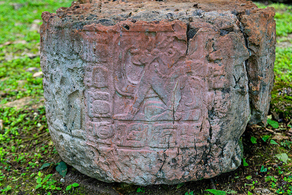Archaeological Maya site of Yaxchilan in the jungle of Chiapas, Mexico, North America - 1184-5570