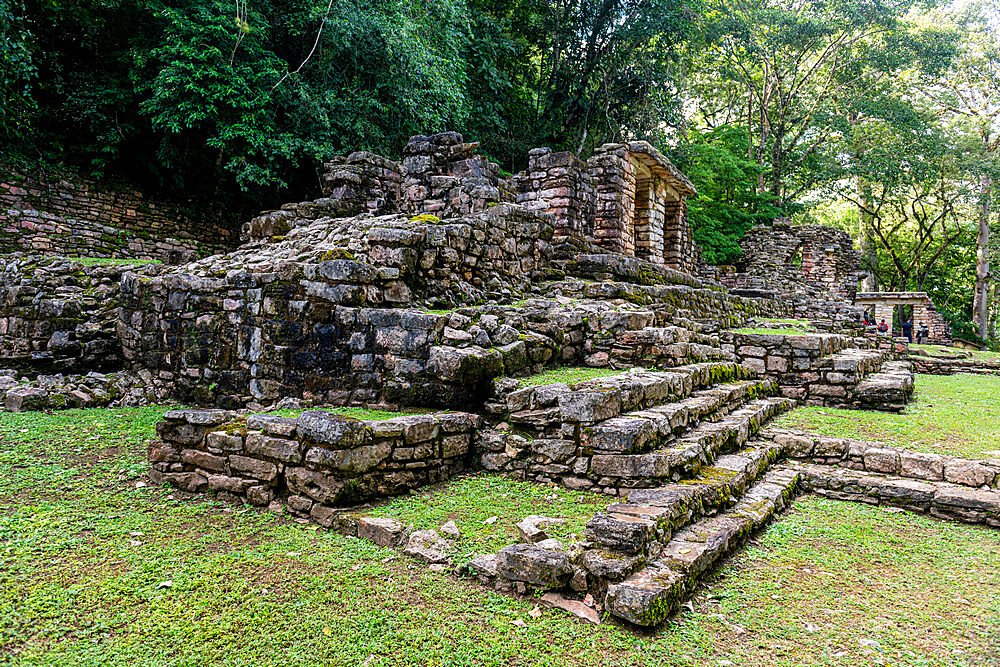 Archaeological Maya site of Yaxchilan in the jungle of Chiapas, Mexico, North America - 1184-5576