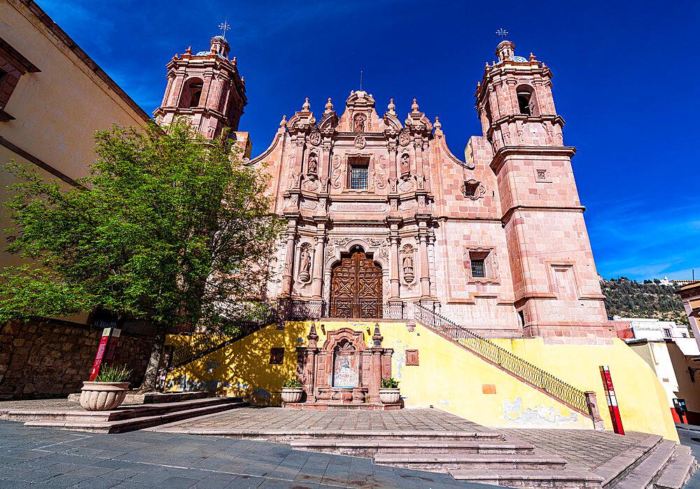 Parroquia de Santo Domingo, UNESCO World Heritage Site, Zacatecas, Mexico, North America - 1184-5581