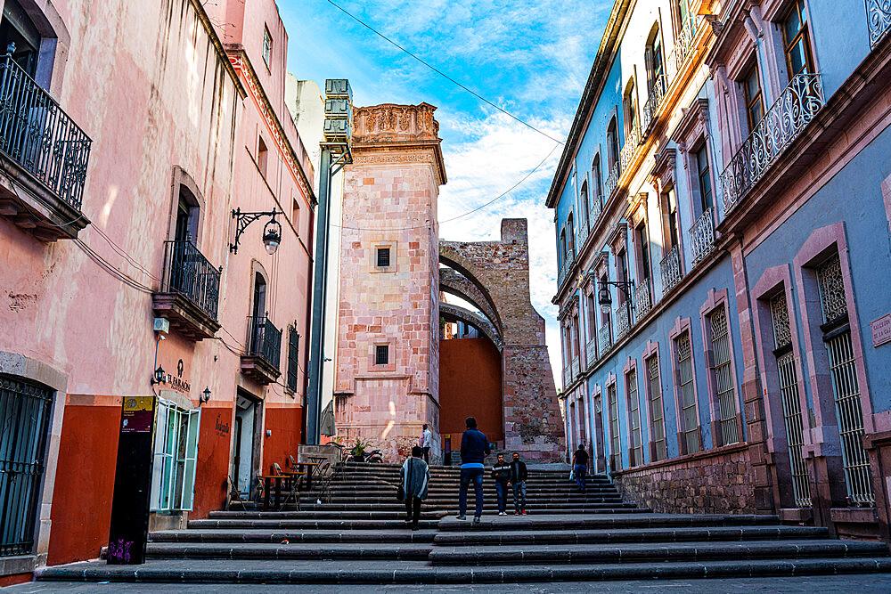 Historic center of the UNESCO World Heritage Site, Zacatecas, Mexico, North America - 1184-5585
