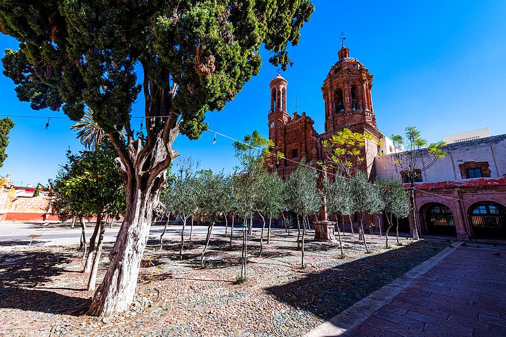 Monastery Franciscano de Nuestra Senora de Guadalupe, UNESCO World Heritage Site, Zacatecas, Mexico, North America - 1184-5587