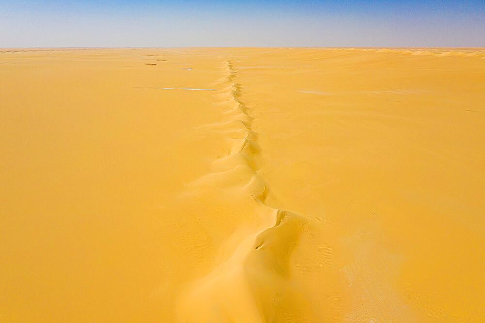 Aerials from the Tenere desert between Bilma and Fachi, Niger, West Africa, Africa - 1184-5606