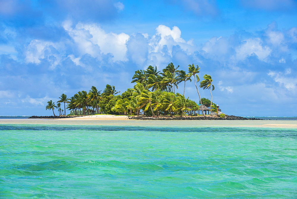 Beautiful little islet in the lagoon of Wallis, Wallis and Futuna, Pacific