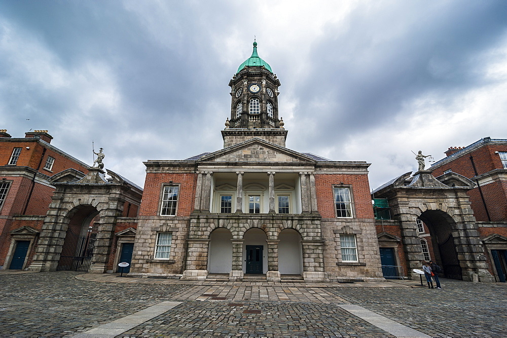 Castle Hall in Dublin Castle, Dublin, Republic of Ireland, Europe