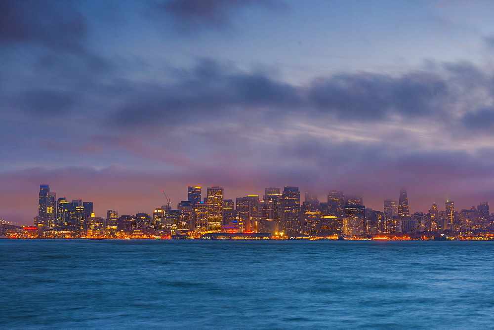 City skyline from treasure island San Francisco, California, United States