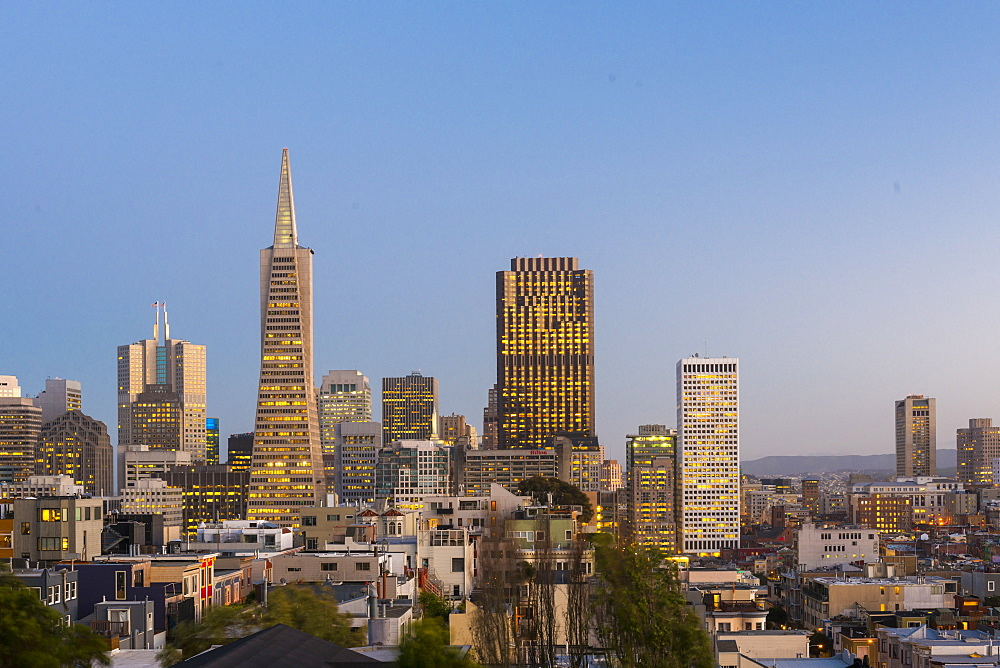 TransAmerica Pyramid, San Francisco, California, United States of America, North America