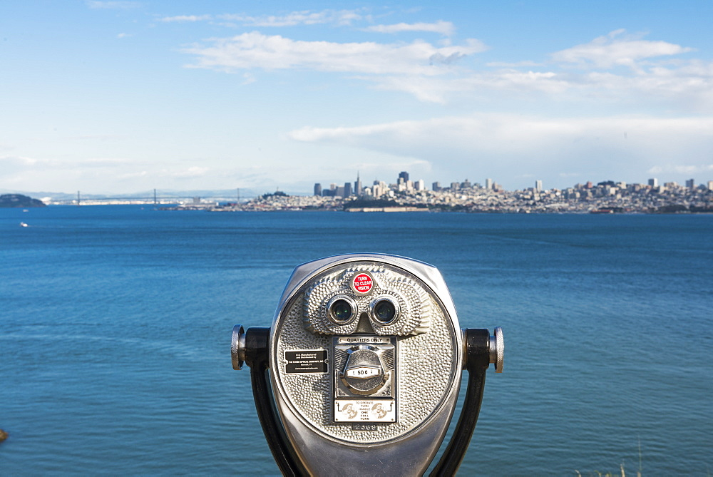 View over the bay San Francisco, California, United States