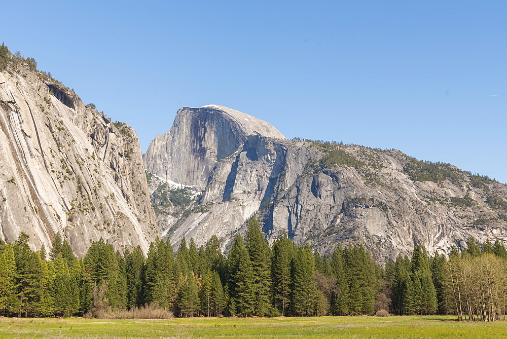 Half Dome, Yosemite National Park, UNESCO World Heritage Site, California, United States of America, North America