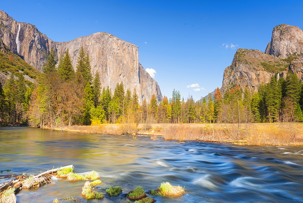 Valley View, Yosemite National Park, UNESCO World Heritage Site, California, United States of America, North America