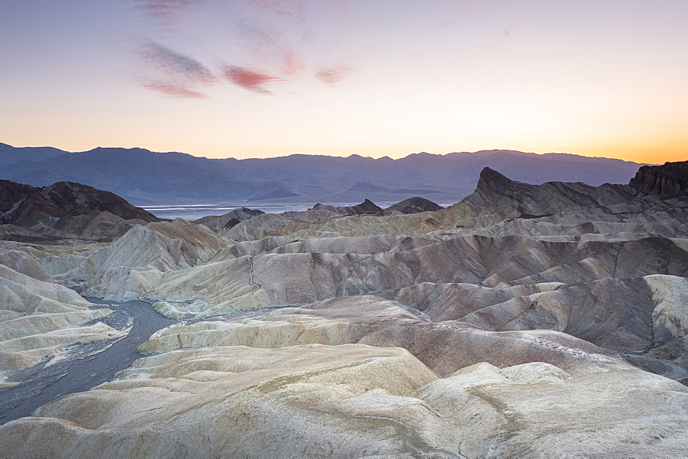Zabriskie Point, Death Valley National Park, California, United States of America, North America - 1186-1133