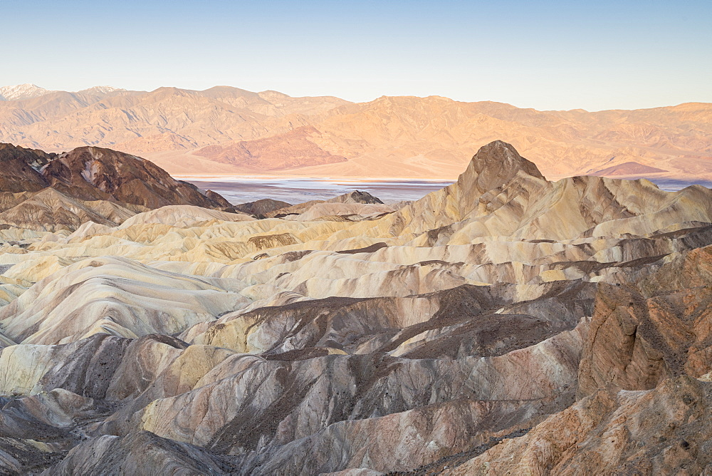 Zabriskie Point in Death Valley National Park, California, United States of America, North America - 1186-1142