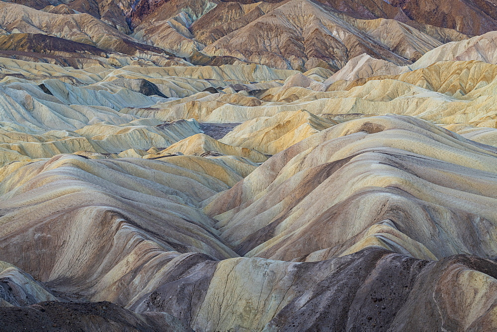 Zabriskie Point in Death Valley National Park, California, United States of America, North America - 1186-1143