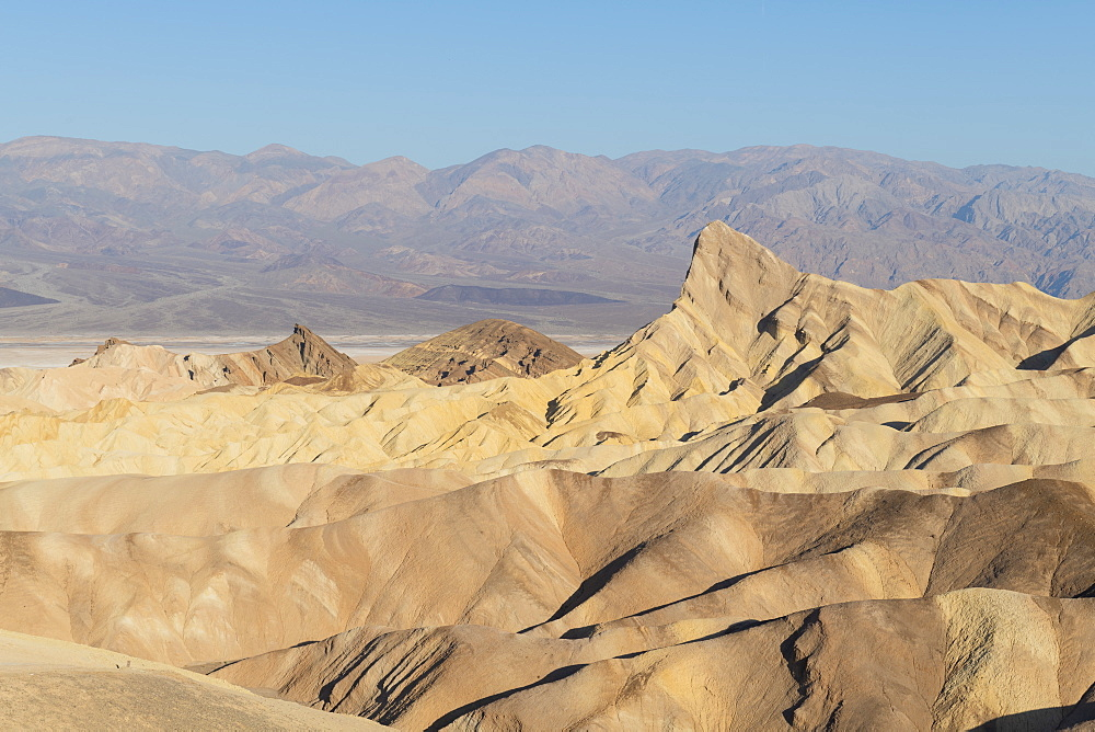 Zabriskie point in Death Valley National Park