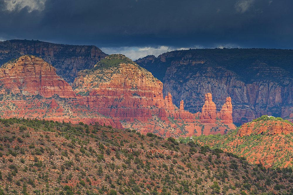 Red-Rock buttes, Sedona, Arizona, United States of America, North America