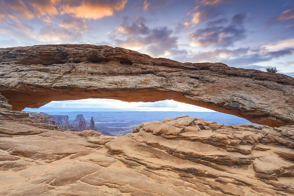 Mesa Arch, Canyonlands National Park, Moab, Utah, United States of America, North America