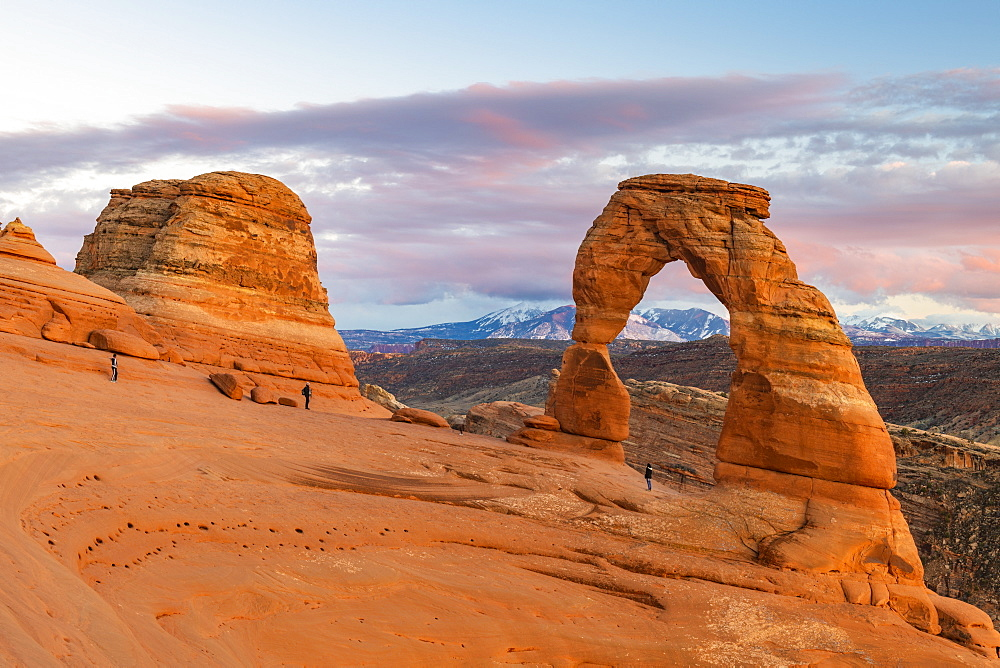 Delicate Arch, Arches National Park, Moab, Utah, United States of America, North America