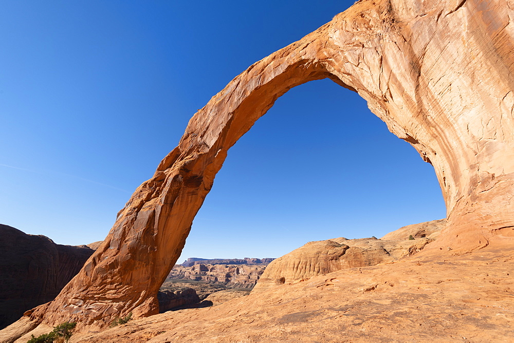 Corona Arch and Bootlegger Canyon, Moab, Utah, United States of America, North America