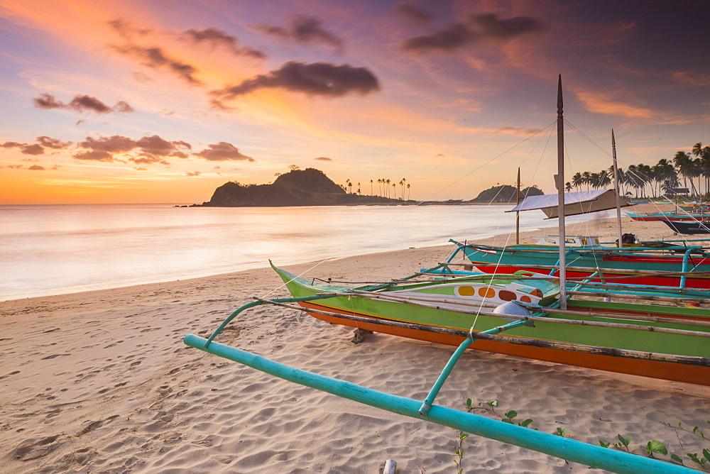 Nacpan Beach, El Nido, Palawan, Mimaropa, Philippines, Southeast Asia, Asia
