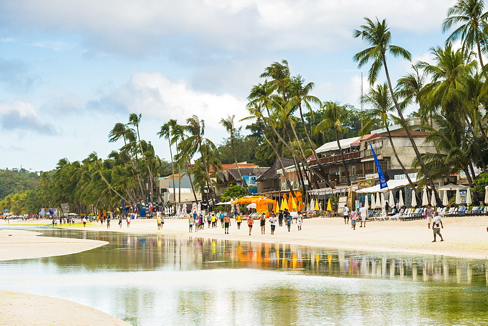 Dinwid Beach, Boracay, Western Visayas, Philippines, Southeast Asia, Asia