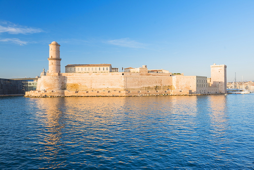 Fort Saint Jean Marseille, Bouches du Rhone, France