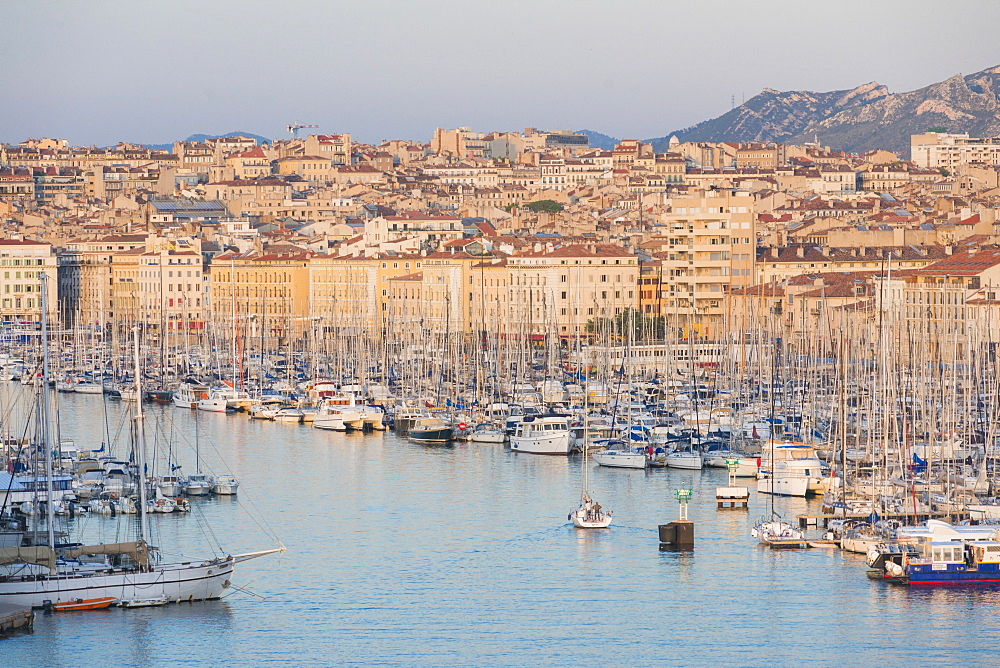 Marseille harbour, Marseille, Bouches du Rhone, France