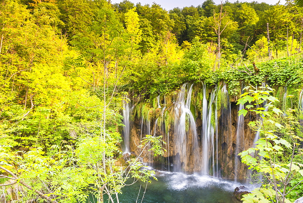 Plitvice Lakes National Park, UNESCO World Heritage Site, Croatia, Europe