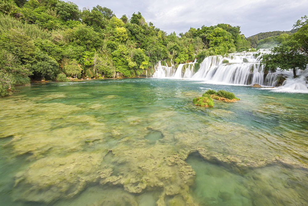 Waterfalls at Krka National Park, Croatia, Europe