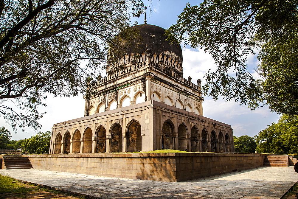 Qutab Sahi Heritage Park, Hyderabad, Andra Pradesh, India, Asia - 1196-265