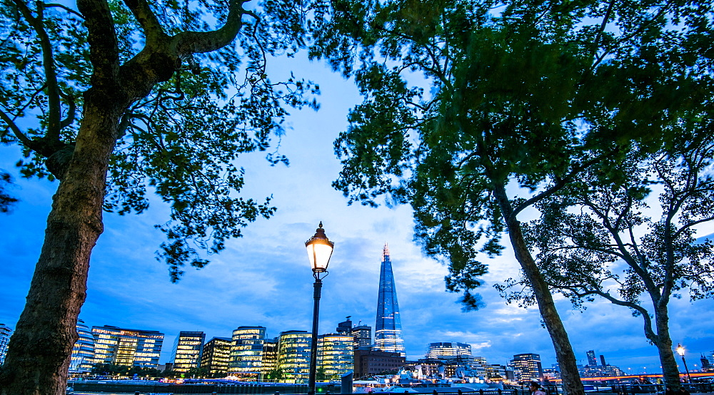 Shard from Tower of London, London, England, United Kingdom, Europe