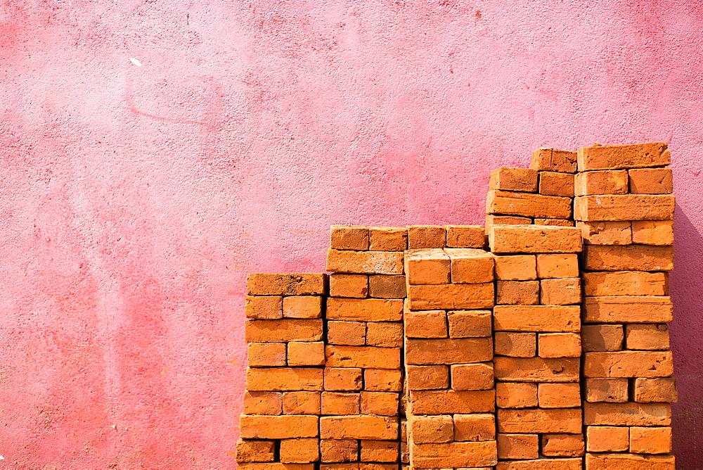 Bricks, Negombo, Sri Lanka, Asia