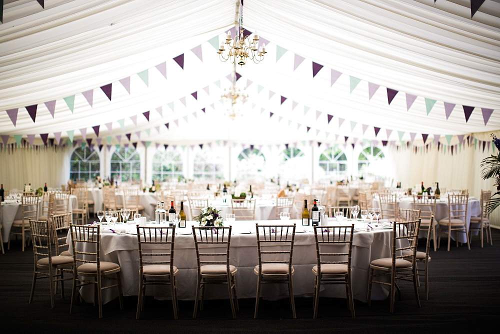 Wedding marquee, United Kingdom, Europe