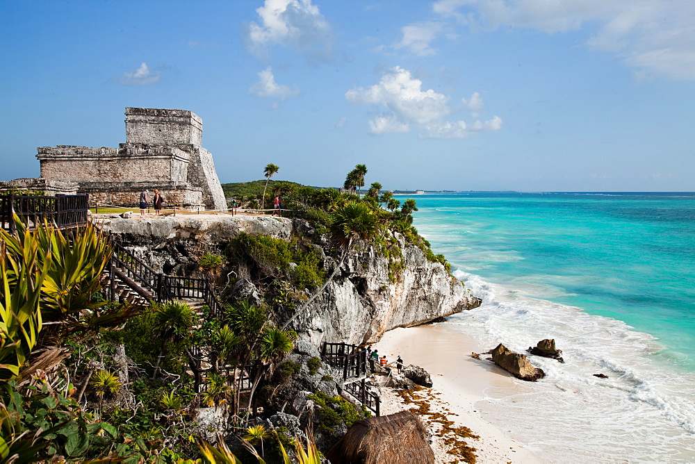El Castillo at Tulum, Yucatan, Mexico, North America