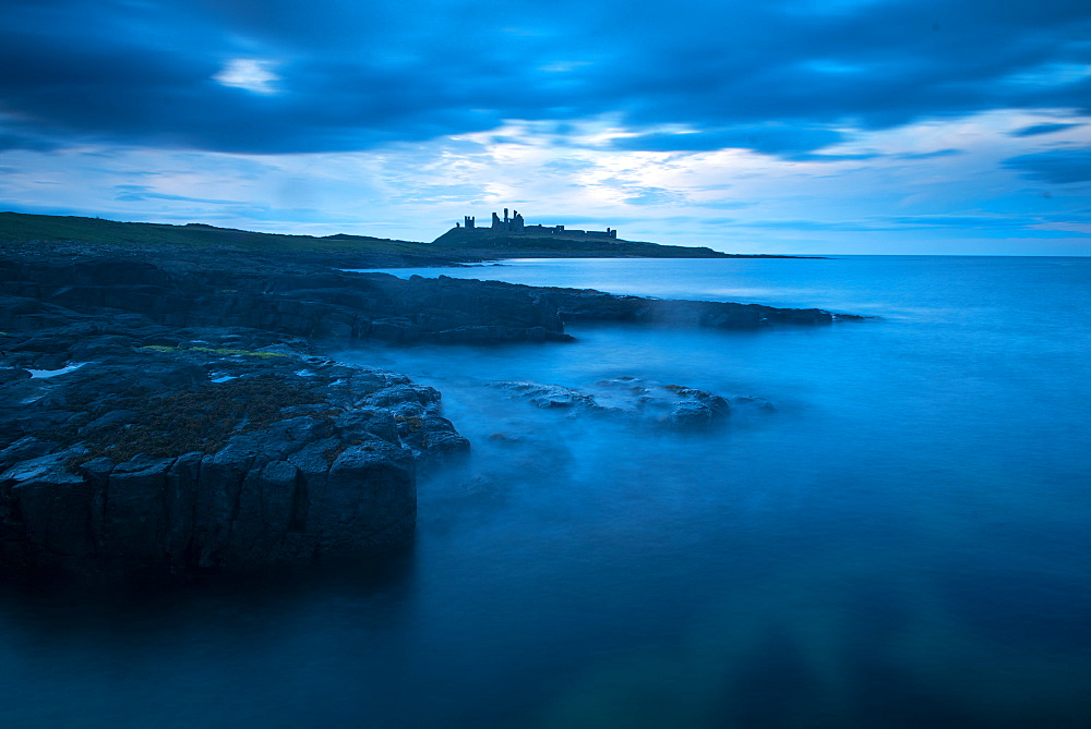 Dunstanburgh Castle, Northumberland, England, United Kingdom, Europe - 1199-488