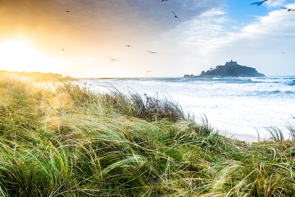 St. Michael's Mount, Marazion, Cornwall, England, United Kingdom, Europe - 1199-490