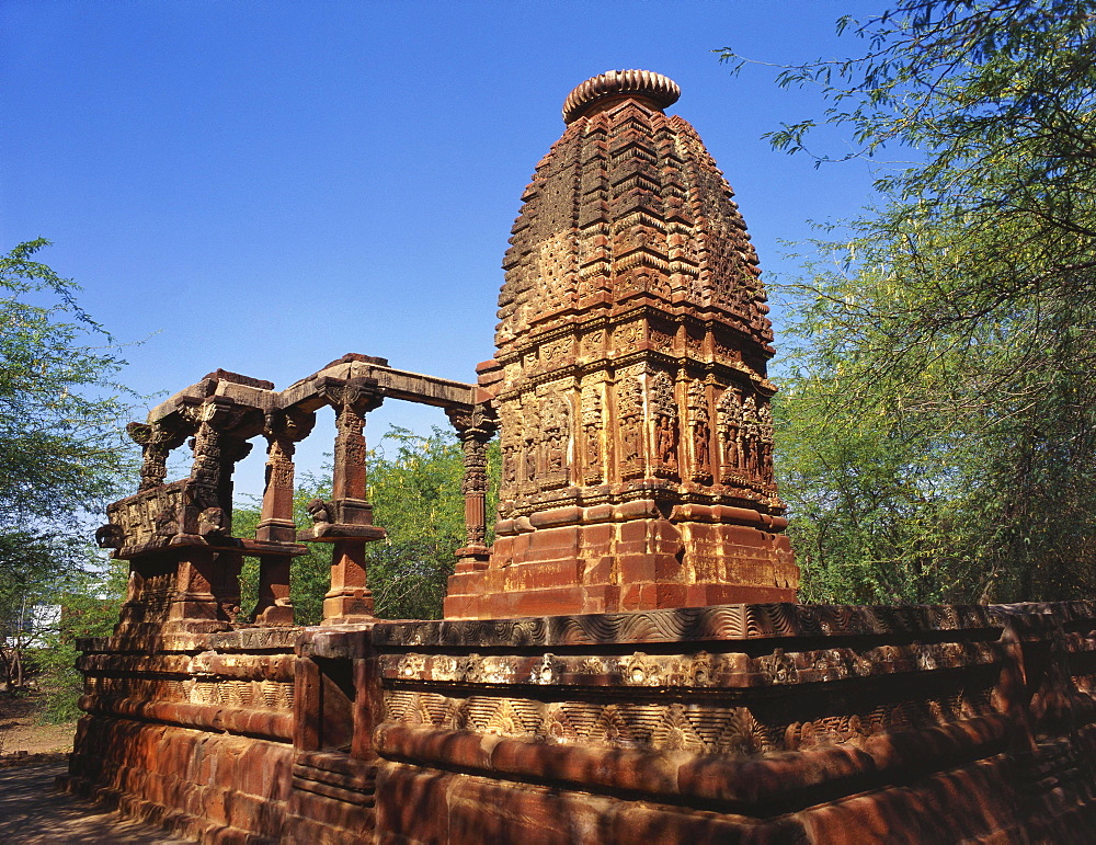 Ruins of an Ancient Surya Temple, Osian, Jodhpur, Rajasthan, India - 120-4123
