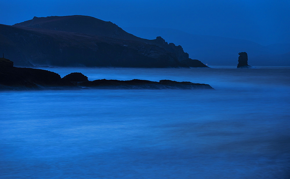 Kinard beach at dawn, Dingle Peninsula, County Kerry, Munster, Republic of Ireland, Europe